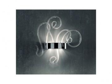lampada-a-parete-vetro-murano-aspid