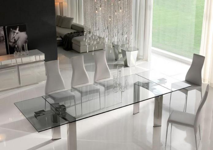 Tavoli il modulo arredamenti sorrento for Tavoli cristallo design allungabili