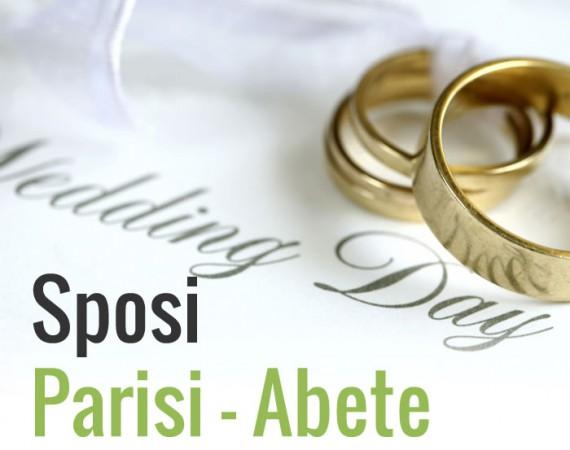 Lista nozze sposi Matilde Parisi e Luigi Abete