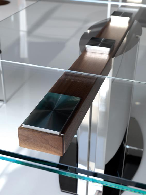 Tavoli in cristallo allungabili top il modulo for Tavoli allungabili cristallo