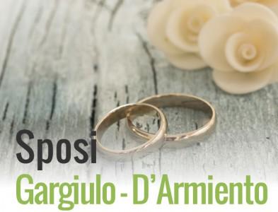 Lista  nozze  sposi Ornella Gargiulo e Vincenzo D'Armiento